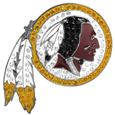 Washington Redskins Crystal Pin