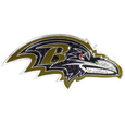 Baltimore Ravens Crystal Pin