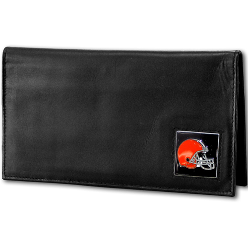 Cleveland Browns Deluxe NFL Checkbook Cover