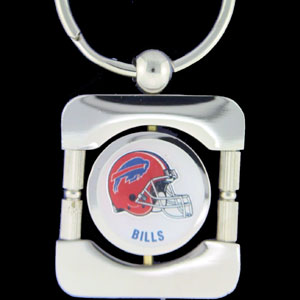 Buffalo Bills Executive NFL Key Chain - Exquisitely crafted silver key chain with your NFL team's logo. Check out our entire line of  NFL merchandise!  Officially licensed NFL product Licensee: Siskiyou Buckle .com