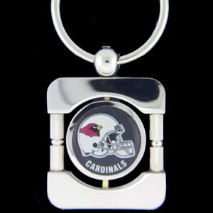 Arizona Cardinals Executive NFL Key Chain - Exquisitely crafted silver key chain with your NFL team's logo. Check out our entire line of  NFL merchandise! Officially licensed NFL product Licensee: Siskiyou Buckle .com