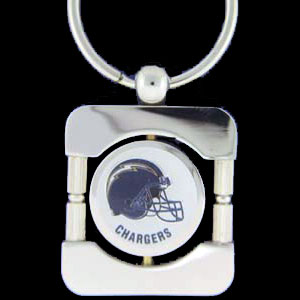 Los Angeles Chargers Executive NFL Key Chain - Exquisitely crafted silver key chain with your Los Angeles Chargers NFL logo. Check out our entire line of  NFL merchandise! Officially licensed NFL product Licensee: Siskiyou Buckle .com