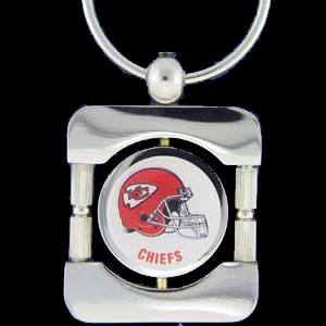 Kansas City Chiefs Executive NFL Key Chain - Exquisitely crafted silver key chain with your NFL team's logo. Check out our entire line of  NFL merchandise!   Officially licensed NFL product Licensee: Siskiyou Buckle Thank you for visiting CrazedOutSports.com