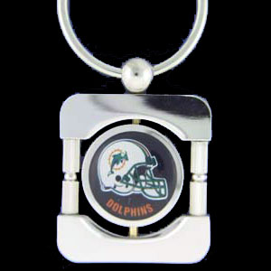 Miami Dolphins Executive NFL Key Chain - Exquisitely crafted silver key chain with your NFL team's logo. Check out our entire line of  NFL merchandise! Officially licensed NFL product Licensee: Siskiyou Buckle .com