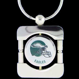 Philadelphia Eagles Executive NFL Key Chain - Exquisitely crafted silver key chain with your NFL team's logo. Check out our entire line of  NFL merchandise!  Officially licensed NFL product Licensee: Siskiyou Buckle .com