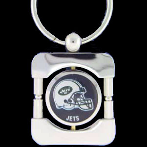 New York Jets Executive NFL Key Chain - Exquisitely crafted silver key chain with your NFL New York Jets logo. Check out our entire line of  NFL merchandise! Officially licensed NFL product Licensee: Siskiyou Buckle Thank you for visiting CrazedOutSports.com