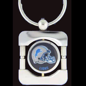 Detroit Lions Executive NFL Key Chain - Exquisitely crafted silver key chain with your NFL team's logo. Check out our entire line of  NFL merchandise! Officially licensed NFL product Licensee: Siskiyou Buckle .com