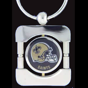 New Orleans Saints Executive NFL Key Chains - Exquisitely crafted silver key chain with your NFL team's logo. Check out our entire line of  NFL merchandise! Officially licensed NFL product Licensee: Siskiyou Buckle .com