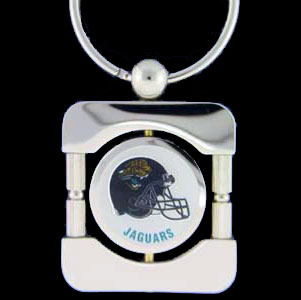 Jacksonville Jaguars Executive NFL Key Chain - Exquisitely crafted silver key chain with your NFL team's logo. Check out our entire line of  NFL merchandise!  Officially licensed NFL product Licensee: Siskiyou Buckle Thank you for visiting CrazedOutSports.com
