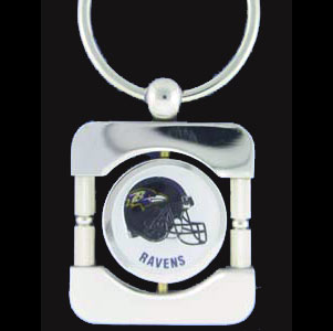 Baltimore Ravens Executive Chain Key Chain - Exquisitely crafted silver key chain with your NFL team's logo. Check out our entire line of  NFL merchandise! Officially licensed NFL product Licensee: Siskiyou Buckle .com