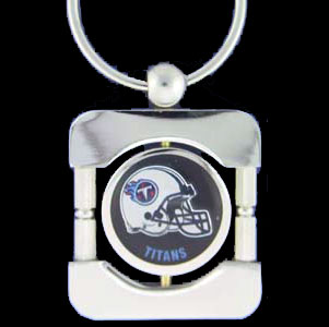 Tennessee Titans Executive NFL Key Chain - Exquisitely crafted silver key chain with your NFL team's logo. Check out our entire line of  NFL merchandise! Officially licensed NFL product Licensee: Siskiyou Buckle .com