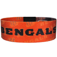 Cincinnati Bengals Stretch Bracelets - Instantly become a team VIP with these colorful wrist bands! These are not your average, cheap stretch bands the stretch fabric and dye sublimation allows the crisp graphics and logo designs to really pop. A must have for any Cincinnati Bengals fan! Officially licensed NFL product Licensee: Siskiyou Buckle Thank you for visiting CrazedOutSports.com