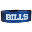 Buffalo Bills Stretch Bracelets - Instantly become a team VIP with these colorful wrist bands! These are not your average, cheap stretch bands the stretch fabric and dye sublimation allows the crisp graphics and logo designs to really pop. A must have for any Buffalo Bills fan! Officially licensed NFL product Licensee: Siskiyou Buckle .com