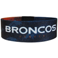 Denver Broncos Stretch Bracelets - Instantly become a team VIP with these colorful wrist bands! These are not your average, cheap stretch bands the stretch fabric and dye sublimation allows the crisp graphics and logo designs to really pop. A must have for any Denver Broncos fan! Officially licensed NFL product Licensee: Siskiyou Buckle Thank you for visiting CrazedOutSports.com
