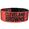 Cleveland Browns Stretch Bracelets - Instantly become a team VIP with these colorful wrist bands! These are not your average, cheap stretch bands the stretch fabric and dye sublimation allows the crisp graphics and logo designs to really pop. A must have for any Cleveland Browns fan! Officially licensed NFL product Licensee: Siskiyou Buckle Thank you for visiting CrazedOutSports.com