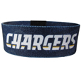 San Diego Chargers Stretch Bracelets - Instantly become a team VIP with these colorful wrist bands! These are not your average, cheap stretch bands the stretch fabric and dye sublimation allows the crisp graphics and logo designs to really pop. A must have for any San Diego Chargers fan! Officially licensed NFL product Licensee: Siskiyou Buckle .com