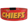 Kansas City Chiefs Stretch Bracelets - Instantly become a team VIP with these colorful wrist bands! These are not your average, cheap stretch bands the stretch fabric and dye sublimation allows the crisp graphics and logo designs to really pop. A must have for any Kansas City Chiefs fan! Officially licensed NFL product Licensee: Siskiyou Buckle .com