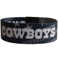 Dallas Cowboys Stretch Bracelets - Instantly become a team VIP with these colorful wrist bands! These are not your average, cheap stretch bands the stretch fabric and dye sublimation allows the crisp graphics and logo designs to really pop. A must have for any Dallas Cowboys fan! Officially licensed NFL product Licensee: Siskiyou Buckle Thank you for visiting CrazedOutSports.com