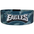 Philadelphia Eagles Stretch Bracelets - Instantly become a team VIP with these colorful wrist bands! These are not your average, cheap stretch bands the stretch fabric and dye sublimation allows the crisp graphics and logo designs to really pop. A must have for any Philadelphia Eagles fan! Officially licensed NFL product Licensee: Siskiyou Buckle .com