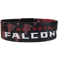 Atlanta Falcons Stretch Bracelets - Instantly become a team VIP with these colorful wrist bands! These are not your average, cheap stretch bands the stretch fabric and dye sublimation allows the crisp graphics and logo designs to really pop. A must have for any Atlanta Falcons fan! Officially licensed NFL product Licensee: Siskiyou Buckle .com