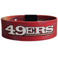 San Francisco 49ers Stretch Bracelets - Instantly become a team VIP with these colorful wrist bands! These are not your average, cheap stretch bands the stretch fabric and dye sublimation allows the crisp graphics and logo designs to really pop. A must have for any San Francisco 49ers fan! Officially licensed NFL product Licensee: Siskiyou Buckle .com