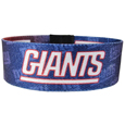 New York Giants Stretch Bracelets - Instantly become a team VIP with these colorful wrist bands! These are not your average, cheap stretch bands the stretch fabric and dye sublimation allows the crisp graphics and logo designs to really pop. A must have for any New York Giants fan! Officially licensed NFL product Licensee: Siskiyou Buckle Thank you for visiting CrazedOutSports.com