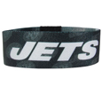 New York Jets Stretch Bracelets - Instantly become a team VIP with these colorful wrist bands! These are not your average, cheap stretch bands the stretch fabric and dye sublimation allows the crisp graphics and logo designs to really pop. A must have for any New York Jets fan! Officially licensed NFL product Licensee: Siskiyou Buckle .com