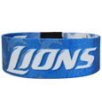 Detroit Lions Stretch Bracelets - Instantly become a team VIP with these colorful wrist bands! These are not your average, cheap stretch bands the stretch fabric and dye sublimation allows the crisp graphics and logo designs to really pop. A must have for any Detroit Lions fan! Officially licensed NFL product Licensee: Siskiyou Buckle .com