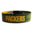 Green Bay Packers Stretch Bracelets - Instantly become a team VIP with these colorful wrist bands! These are not your average, cheap stretch bands the stretch fabric and dye sublimation allows the crisp graphics and logo designs to really pop. A must have for any Green Bay Packers fan! Officially licensed NFL product Licensee: Siskiyou Buckle Thank you for visiting CrazedOutSports.com