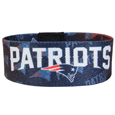 New England Patriots Stretch Bracelets - Instantly become a team VIP with these colorful wrist bands! These are not your average, cheap stretch bands the stretch fabric and dye sublimation allows the crisp graphics and logo designs to really pop. A must have for any New England Patriots fan! Officially licensed NFL product Licensee: Siskiyou Buckle .com