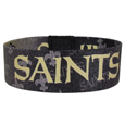 New Orleans Saints Stretch Bracelets - Instantly become a team VIP with these colorful wrist bands! These are not your average, cheap stretch bands the stretch fabric and dye sublimation allows the crisp graphics and logo designs to really pop. A must have for any New Orleans Saints fan! Officially licensed NFL product Licensee: Siskiyou Buckle .com