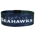 Seattle Seahawks Stretch Bracelets - Instantly become a team VIP with these colorful wrist bands! These are not your average, cheap stretch bands the stretch fabric and dye sublimation allows the crisp graphics and logo designs to really pop. A must have for any Seattle Seahawks fan! Officially licensed NFL product Licensee: Siskiyou Buckle .com