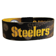 Pittsburgh Steelers Stretch Bracelets - Instantly become a team VIP with these colorful wrist bands! These are not your average, cheap stretch bands the stretch fabric and dye sublimation allows the crisp graphics and logo designs to really pop. A must have for any Pittsburgh Steelers fan! Officially licensed NFL product Licensee: Siskiyou Buckle Thank you for visiting CrazedOutSports.com