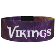 Minnesota Vikings Stretch Bracelets - Instantly become a team VIP with these colorful wrist bands! These are not your average, cheap stretch bands the stretch fabric and dye sublimation allows the crisp graphics and logo designs to really pop. A must have for any Minnesota Vikings fan! Officially licensed NFL product Licensee: Siskiyou Buckle .com