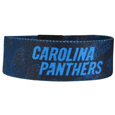 Carolina Panthers Stretch Bracelets - Instantly become a team VIP with these colorful wrist bands! These are not your average, cheap stretch bands the stretch fabric and dye sublimation allows the crisp graphics and logo designs to really pop. A must have for any Carolina Panthers fan! Officially licensed NFL product Licensee: Siskiyou Buckle Thank you for visiting CrazedOutSports.com