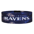 Baltimore Ravens Stretch Bracelets - Instantly become a team VIP with these colorful wrist bands! These are not your average, cheap stretch bands the stretch fabric and dye sublimation allows the crisp graphics and logo designs to really pop. A must have for any Baltimore Ravens fan! Officially licensed NFL product Licensee: Siskiyou Buckle .com
