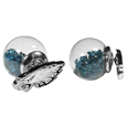 Philadelphia Eagles Front/Back Earrings
