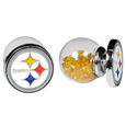 Pittsburgh Steelers Front/Back Earrings