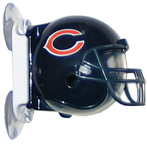 NFL Flipper Toothbrush Holder - Bears - Siskiyou's NFL toothbrush holder is a hygienic way to store your toothbrush while showing off your team pride. The holder mounts to mirrors or glass and opens with one easy touch. Officially licensed NFL product Licensee: Siskiyou Buckle .com