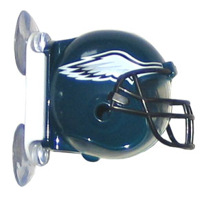 NFL Flipper Toothbrush Holder - Eagles - Siskiyou's NFL toothbrush holder is a hygienic way to store your toothbrush while showing off your team pride. The holder mounts to mirrors or glass and opens with one easy touch. Officially licensed NFL product Licensee: Siskiyou Buckle .com