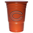 Chicago Bears Game Day Cups - Our Chicago Bears 18 ounce NFL game day cups are what every tailgating or backyard events needs! The cups feature a big Chicago Bears logo so you can show off your team pride. The popular 18 ounce size is perfect for drinks or ping pong balls! Sold in sleeves of 18 cups. Officially licensed NFL product Licensee: Siskiyou Buckle .com
