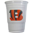 Cincinnati Bengals Game Day Cups - Our Cincinnati Bengals 18 ounce NFL game day cups are what every tailgating or backyard events needs! The cups feature a big Cincinnati Bengals logo so you can show off your team pride. The popular 18 ounce size is perfect for drinks or ping pong balls! Sold in sleeves of 18 cups Officially licensed NFL product Licensee: Siskiyou Buckle .com