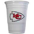 Kansas City Chiefs Game Day Cups - Our Kansas City Chiefs 18 ounce NFL game day cups are what every tailgating or backyard events needs! The cups feature a big Kansas City Chiefs logo so you can show off your team pride. The popular 18 ounce size is perfect for drinks or ping pong balls! Sold in sleeves of 18 cups Officially licensed NFL product Licensee: Siskiyou Buckle Thank you for visiting CrazedOutSports.com