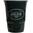 New York Jets Game Day Cups - Our NFL New York Jets game day cups come in a sleeve of 18 disposable 18 oz plastic cups and feature a silk screened New York Jets logo. Officially licensed NFL product Licensee: Siskiyou Buckle Thank you for visiting CrazedOutSports.com