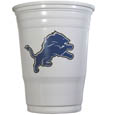 Detroit Lions Game Day Cups - Our Detroit Lions 18 ounce NFL game day cups are what every tailgating or backyard events needs! The cups feature a big Detroit Lions logo so you can show off your team pride. The popular 18 ounce size is perfect for drinks or ping pong balls! Sold in sleeves of 18 cups Officially licensed NFL product Licensee: Siskiyou Buckle .com