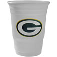 Green Bay Packers Game Day Cups - Our Green Bay Packers 18 ounce NFL game day cups are what every tailgating or backyard events needs! The cups feature a big Green Bay Packers logo so you can show off your team pride. The popular 18 ounce size is perfect for drinks or ping pong balls! Sold in sleeves of 18 cups Officially licensed NFL product Licensee: Siskiyou Buckle .com