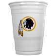 Washington Redskins Game Day Cups - Our Washington Redskins 18 ounce NFL game day cups are what every tailgating or backyard events needs! The cups feature a big Washington Redskins logo so you can show off your team pride. The popular 18 ounce size is perfect for drinks or ping pong balls! Sold in sleeves of 18 cups Officially licensed NFL product Licensee: Siskiyou Buckle Thank you for visiting CrazedOutSports.com