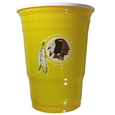 Washington Redskins Game Day Cups - Our Washington Redskins 18 ounce NFL game day cups are what every tailgating or backyard events needs! The cups feature a big Washington Redskins logo so you can show off your team pride. The popular 18 ounce size is perfect for drinks or ping pong balls! Sold in sleeves of 18 cups. Officially licensed NFL product Licensee: Siskiyou Buckle Thank you for visiting CrazedOutSports.com