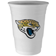 Jacksonville Jaguars Game Day Cups - Our Jacksonville Jaguars 18 ounce NFL game day cups are what every tailgating or backyard events needs! The cups feature a big Jacksonville Jaguars logo so you can show off your team pride. The popular 18 ounce size is perfect for drinks or ping pong balls! Sold in sleeves of 18 cups Officially licensed NFL product Licensee: Siskiyou Buckle Thank you for visiting CrazedOutSports.com