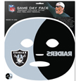 Oakland Raiders Game Day Face Temporary Tattoo - No better way to show your Oakland Raiders pride than by painting your face. Siskiyou's Game Day Face Temporary Tattoo isn't your typical face paint. It is a water based application that doesn't smudge, smear or sweat off  while you're wearing it and easily peels off after you're done celebrating your team's big Win! The temporary tattoo is large enough to trim down to fit your face.  Our Game Day Face Temporary Tattoo's are fun for fans of all ages. You may have seen our product before,  these are the same Temporary Face Tattoos as pitched on ABC's Shark Tank. Officially licensed NFL product Licensee: Siskiyou Buckle Thank you for visiting CrazedOutSports.com